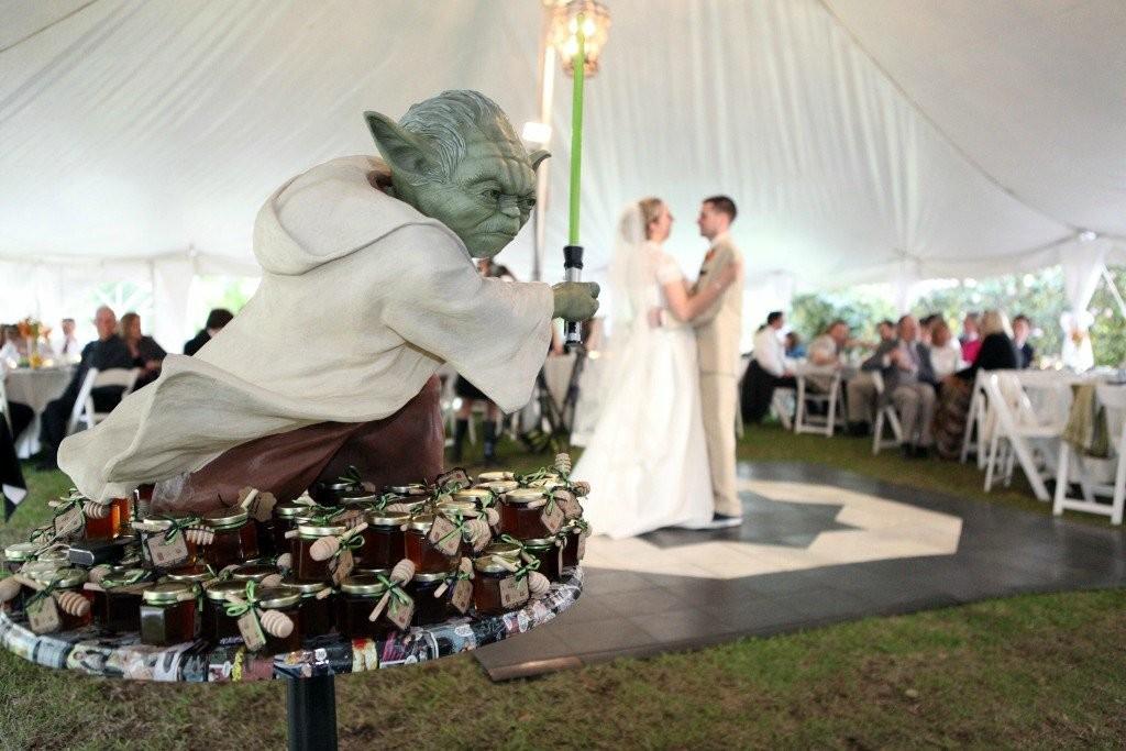 Свадьба в Стиле Звездных войн это очень круто!