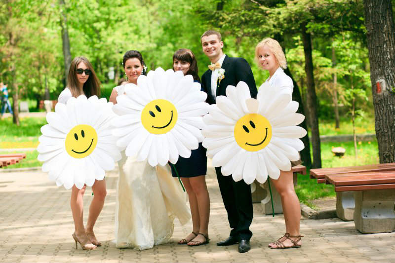 """dekor-svadby-v-smajlikah Свадьба в стиле """"Смайл"""": используем мотивы смайликов при оформлении свадьбы"""
