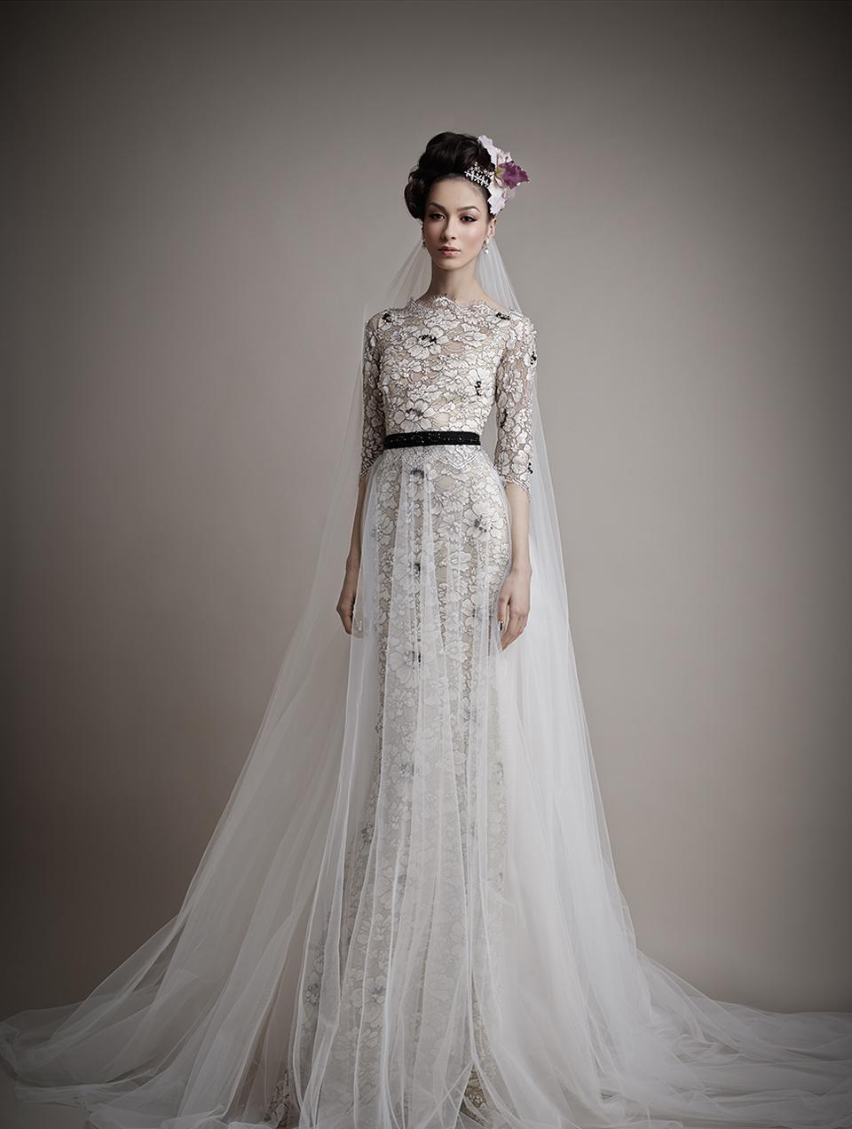 Коллекция свадебных платьев 2015 года от Ersa Atelier10