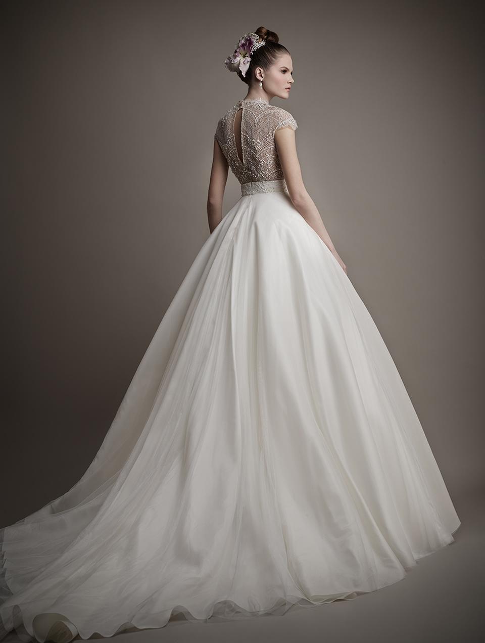 Коллекция свадебных платьев 2015 года от Ersa Atelier11-1