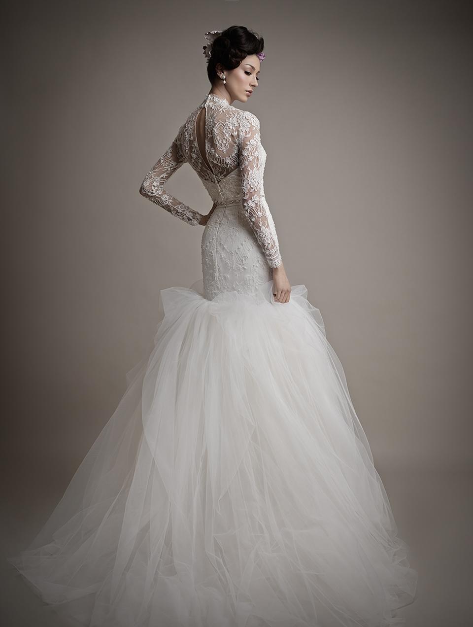 Коллекция свадебных платьев 2015 года от Ersa Atelier13-1