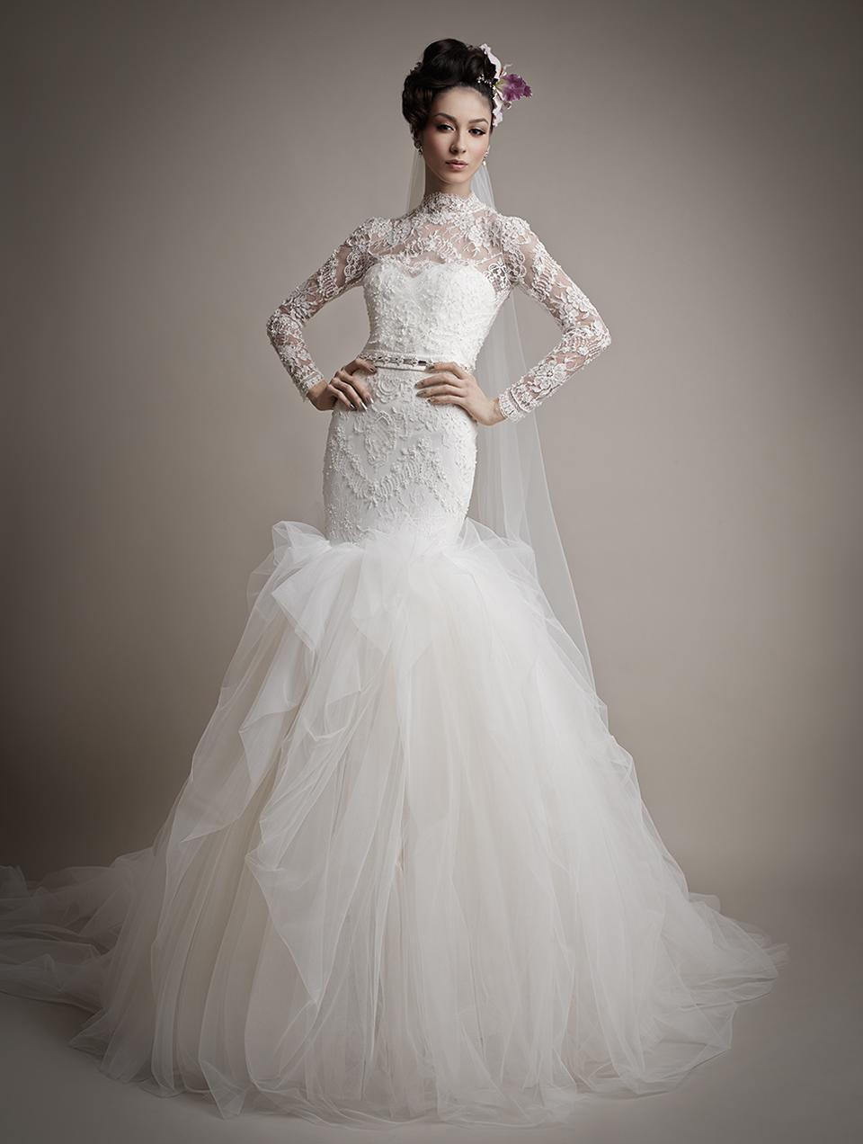 Коллекция свадебных платьев 2015 года от Ersa Atelier13