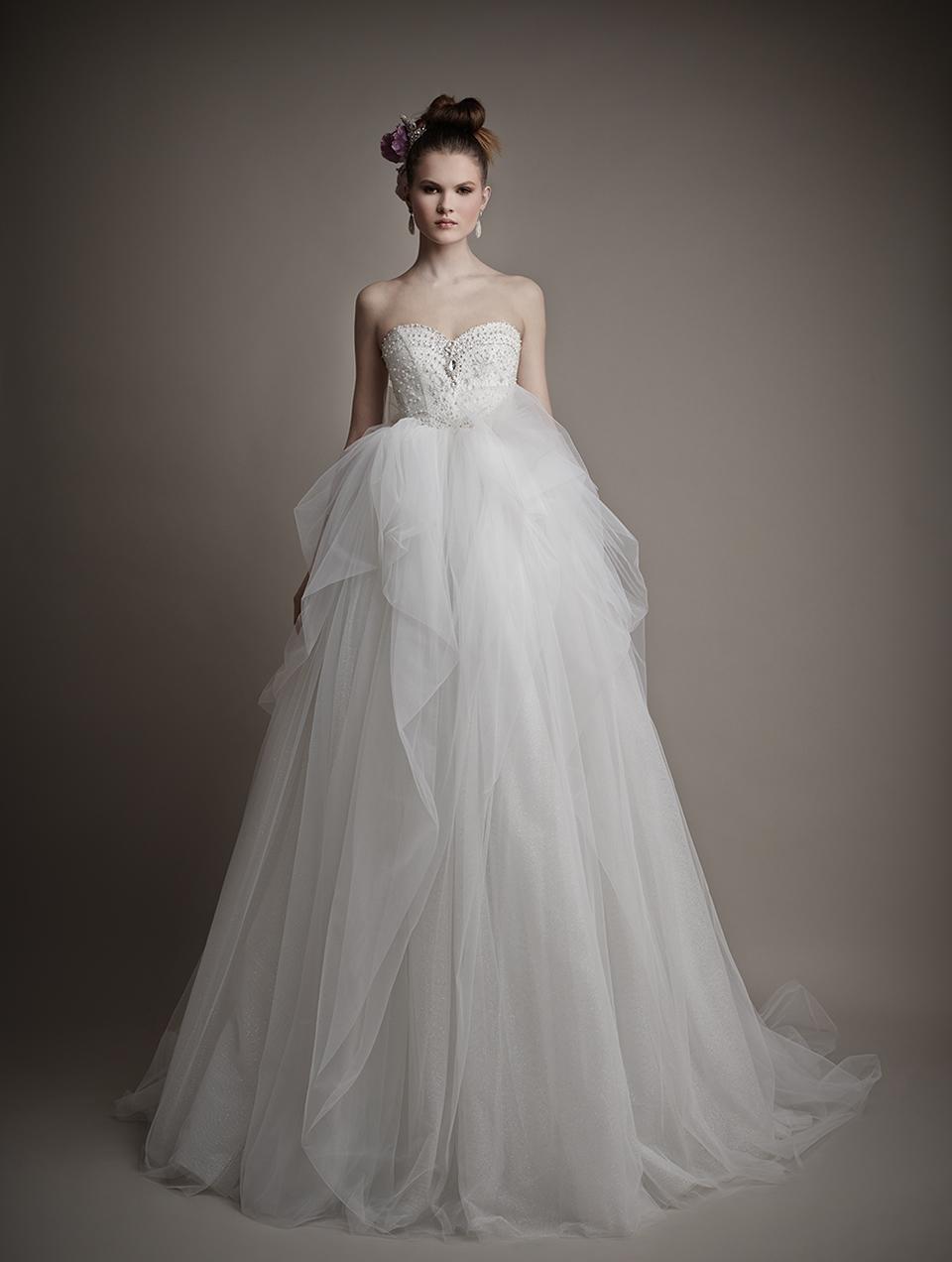 Коллекция свадебных платьев 2015 года от Ersa Atelier14