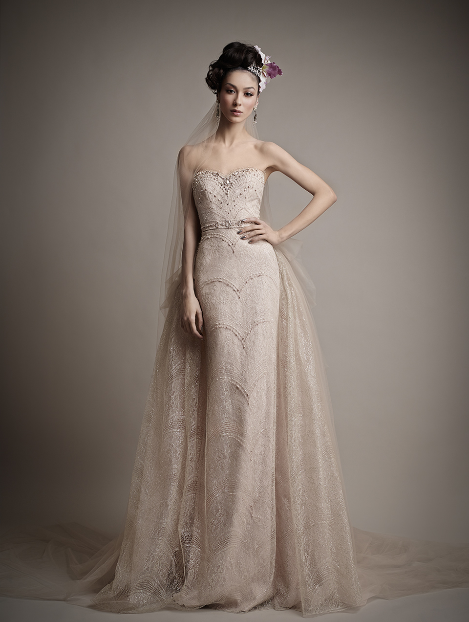 Коллекция свадебных платьев 2015 года от Ersa Atelier15