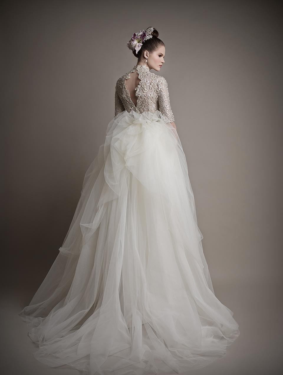 Коллекция свадебных платьев 2015 года от Ersa Atelier17-1