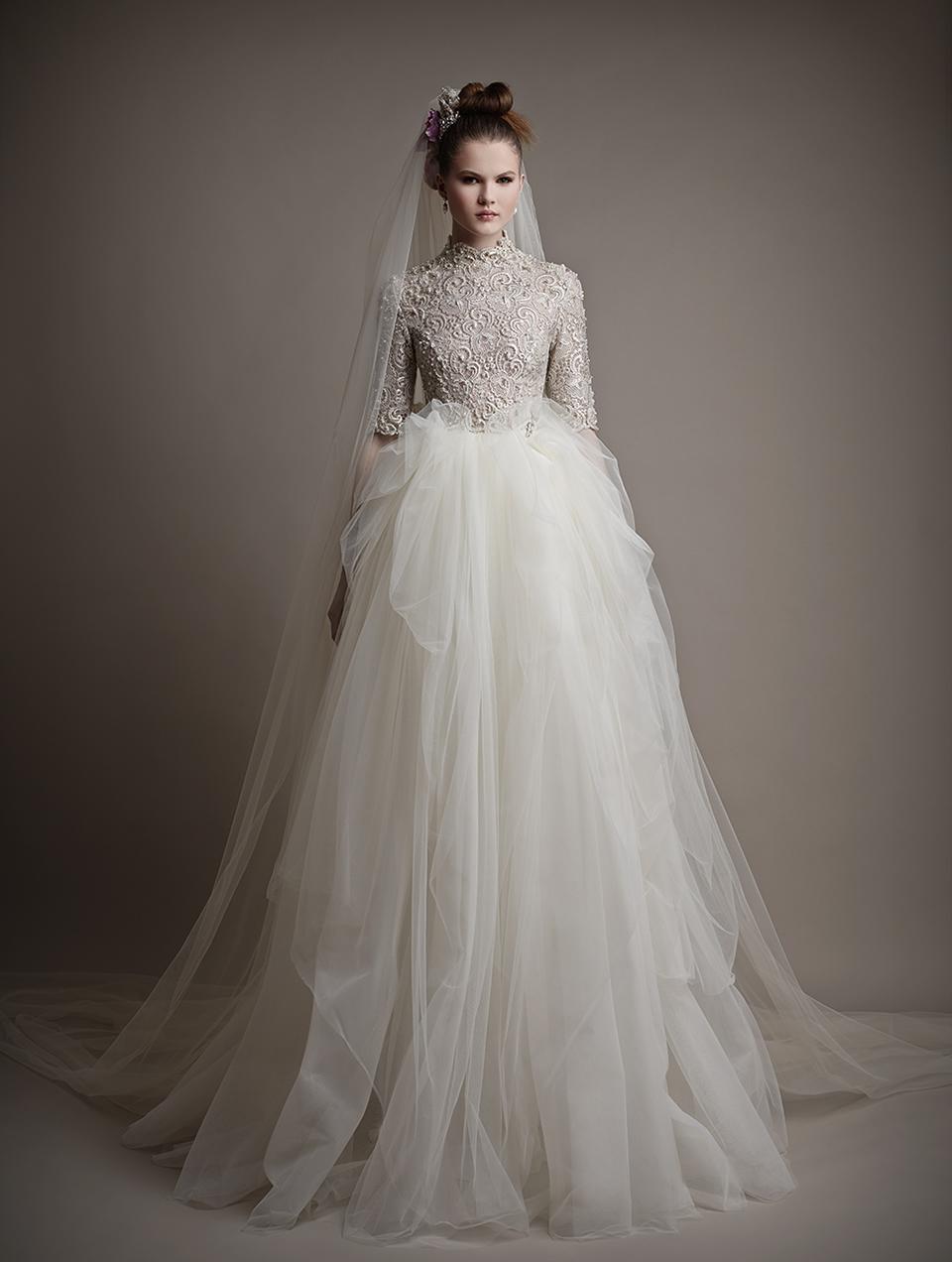Коллекция свадебных платьев 2015 года от Ersa Atelier17