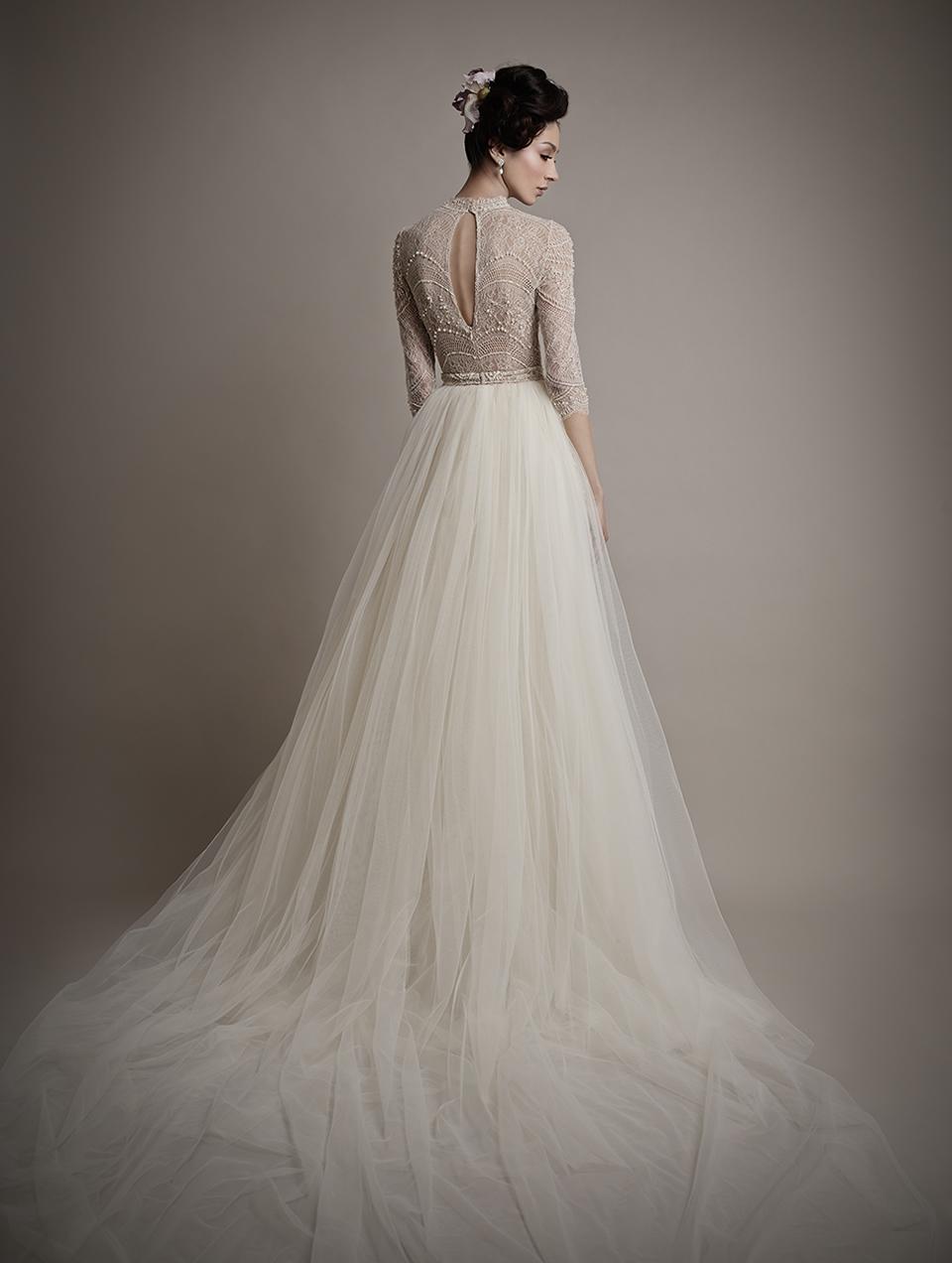 Коллекция свадебных платьев 2015 года от Ersa Atelier18-1