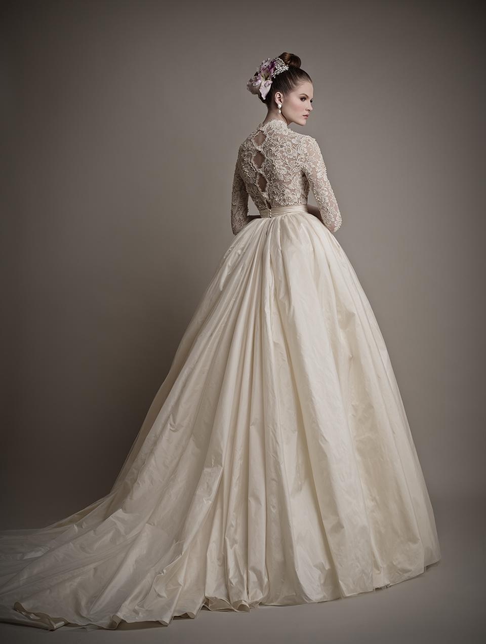 Коллекция свадебных платьев 2015 года от Ersa Atelier2-1