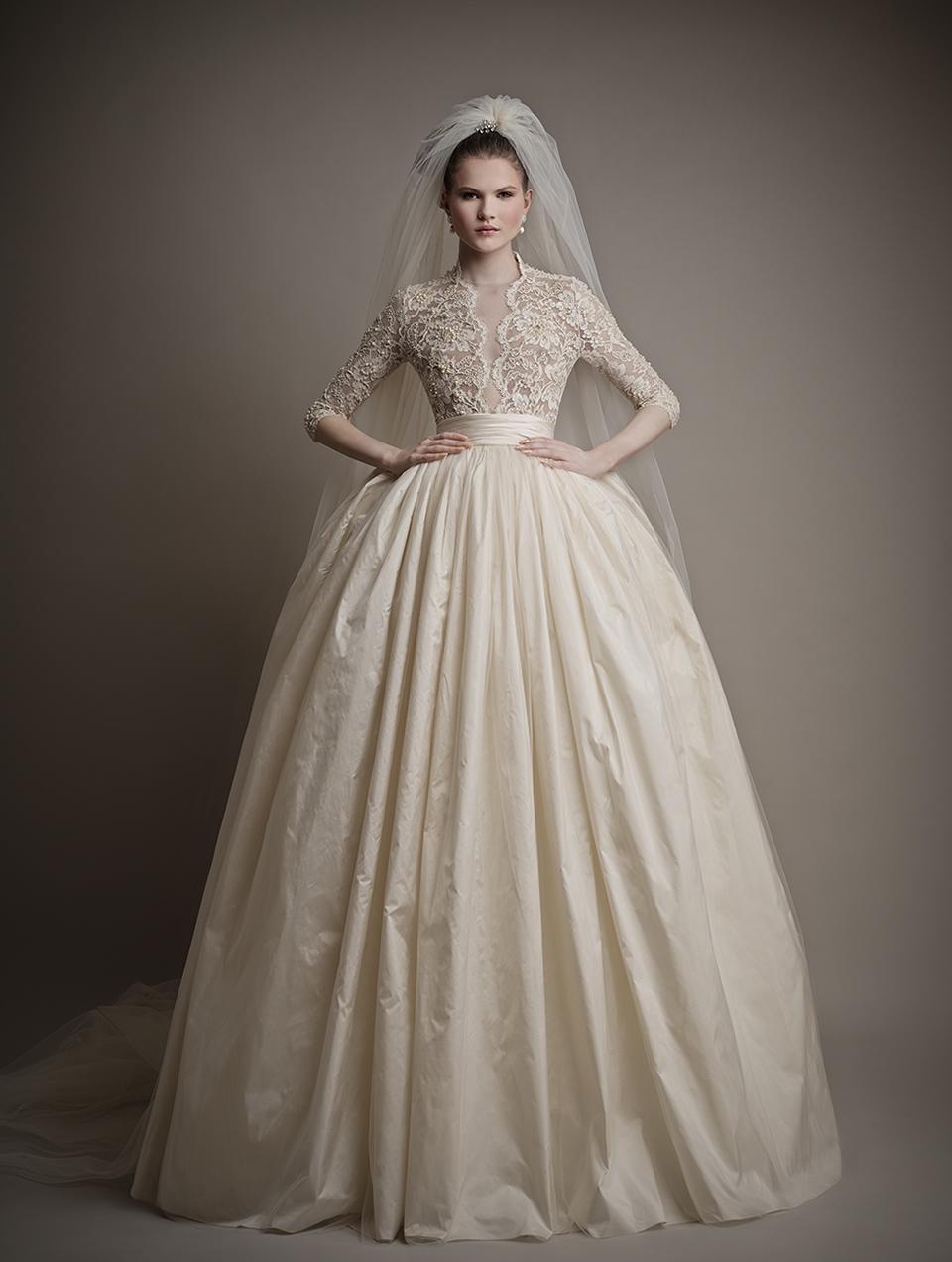 Коллекция свадебных платьев 2015 года от Ersa Atelier2