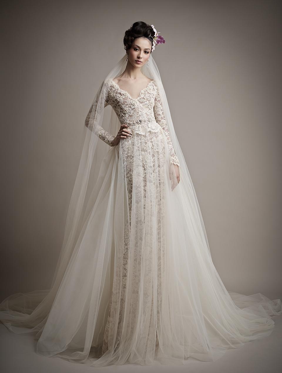 Коллекция свадебных платьев 2015 года от Ersa Atelier4