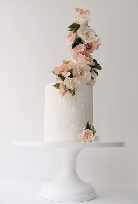 Odnourovnevye-svadebnye-torty11 Одноуровневые свадебные торты