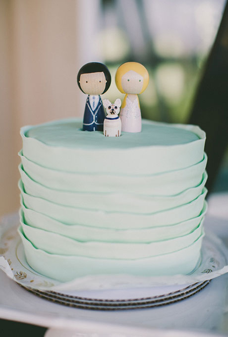 Odnourovnevye-svadebnye-torty12 Одноуровневые свадебные торты
