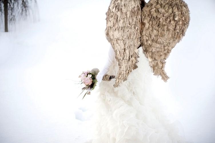 21 Мастер-класс: ангельские крылья для невесты