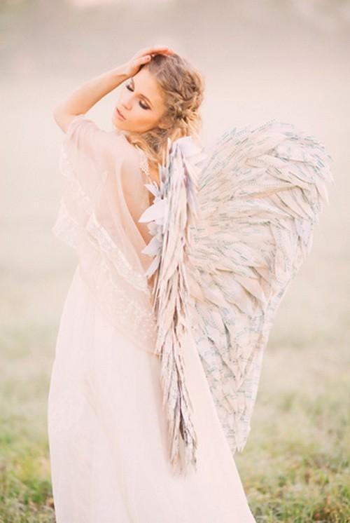 81 Мастер-класс: ангельские крылья для невесты