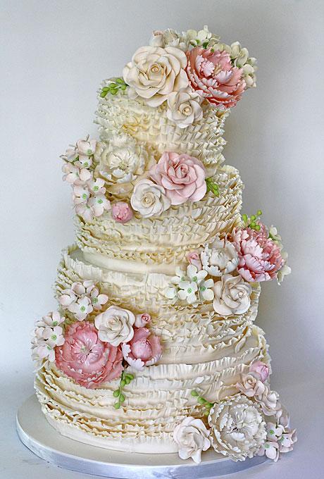 YArkie-svadebnye-torty6 Яркие свадебные торты