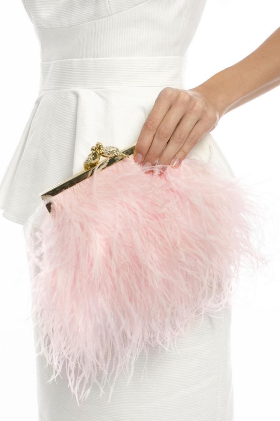 rozovyj-klatch Мастер-класс: изящная сумочка с перьями для невесты