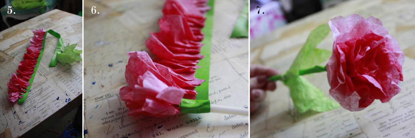 rozy-iz-filtrov-dlya-kofe6 Свадебный мастер-класс: розы из фильтров для кофе
