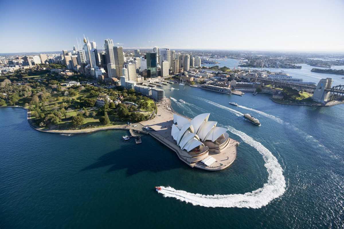 Свадебное путешествие в Сидней