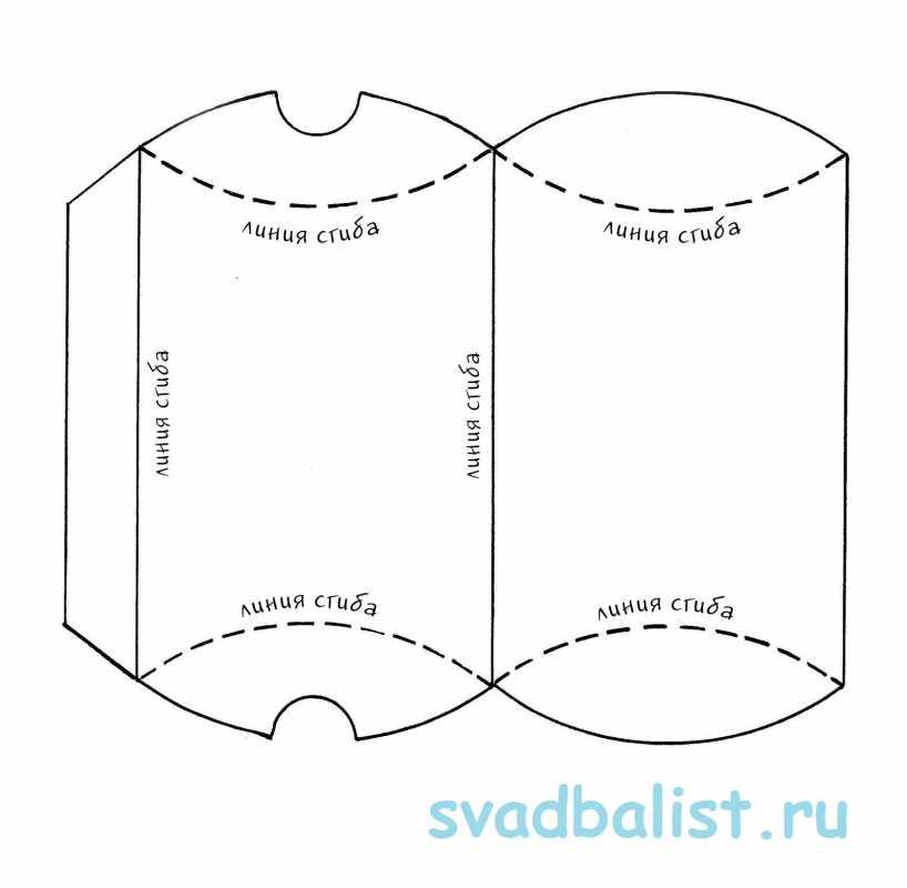 1-bonbonerka-konvertik 10 простых схем для изготовления свадебных бонбоньерок своими руками