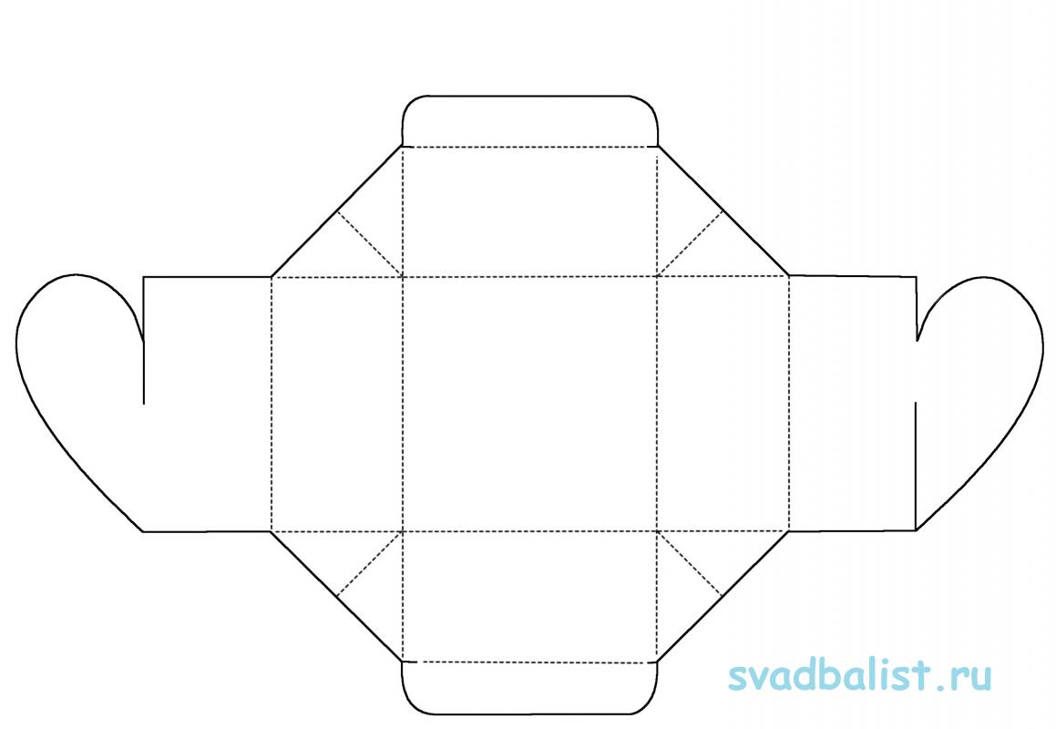 10-bonbonerka-zakryvayushhayasya 10 простых схем для изготовления свадебных бонбоньерок своими руками