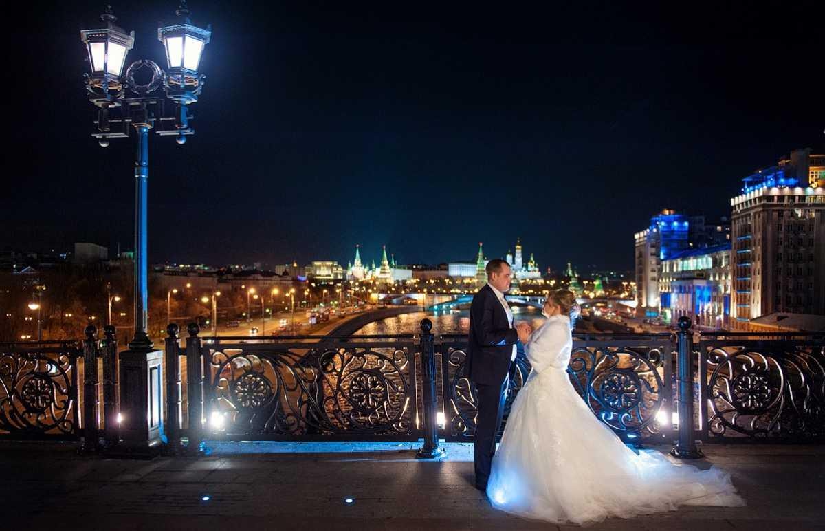 Свадебная фотосессия ночью: несколько советов от свадебных фотографов