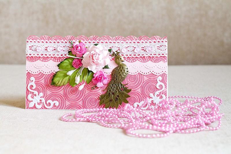 rozovoe-priglashenie-skrapbuking Свадебные приглашения в технике скрапбукинга