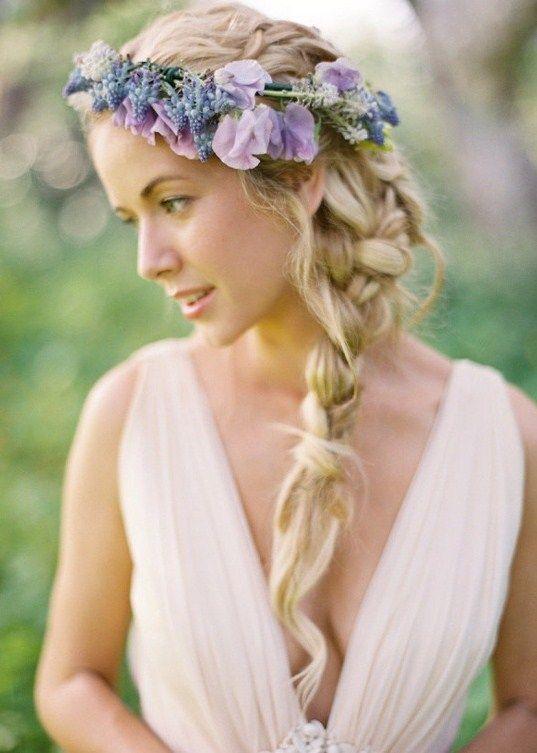 svadebnye-pricheski-v-folklornom-stile Основные стили свадебных причесок.