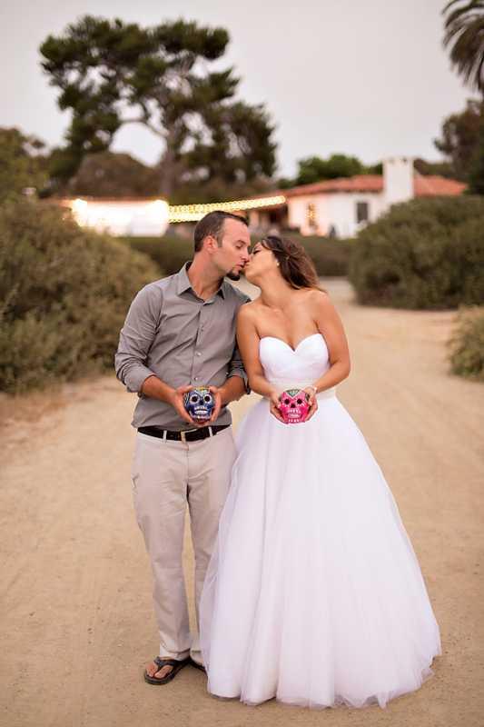 1-svadba-v-stile-Dnya-Mertvyh Идеи для свадеб со стилем, тематические свадьбы