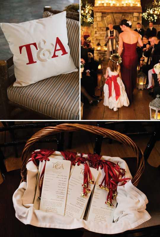 rustikovaya-svadba-6 Вариант организации свадьбы в стиле рустик в зимний период года, на чем заострить внимание