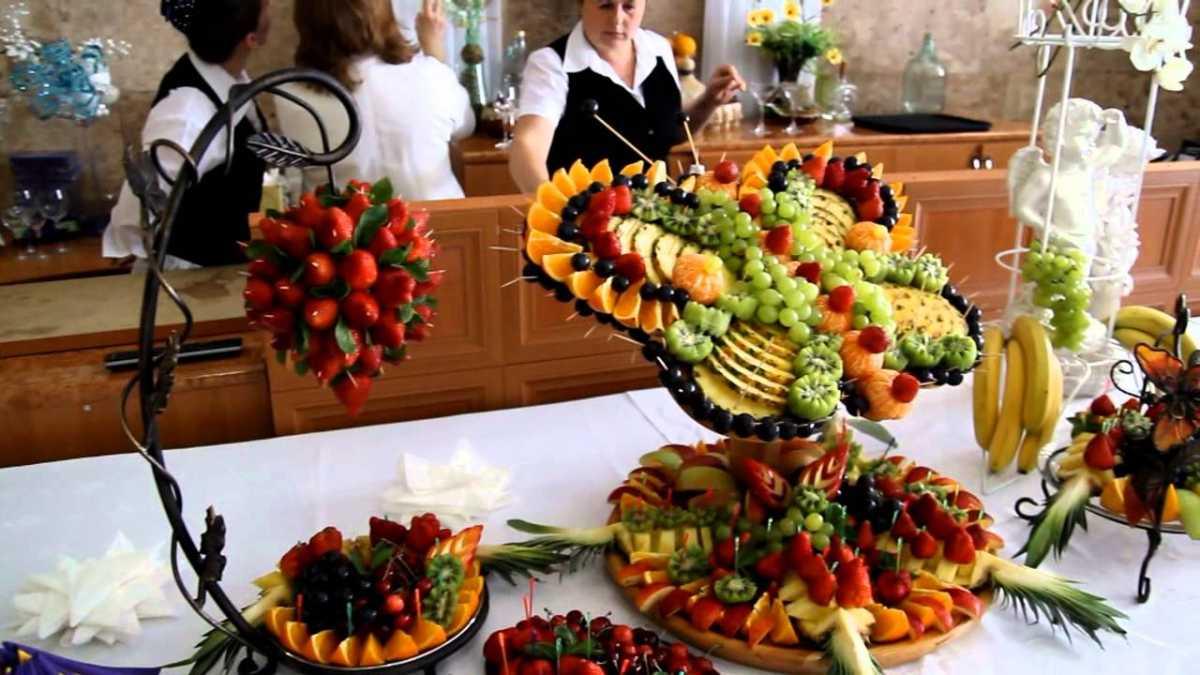 1-oformlenie-svadebnyh-blyud Оформление свадебных блюд, как удивить гостей оригинальной подачей традиционных угощений