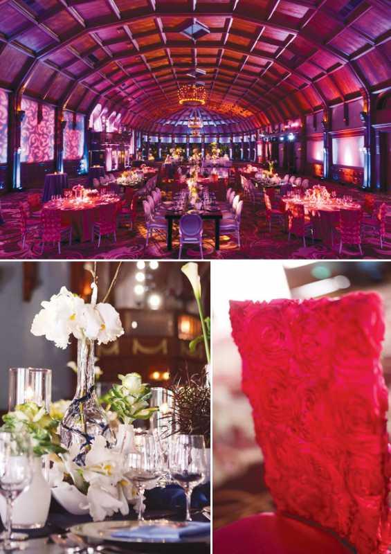 Как создать яркую свадьбу в насыщенном розовом цвете, правила организации подобного торжества