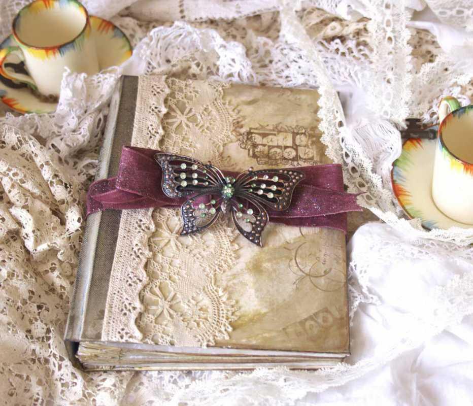 oformlenie-svadebnogo-alboma-5 Оформление свадебных фотографий в альбом подручными средствами после торжества