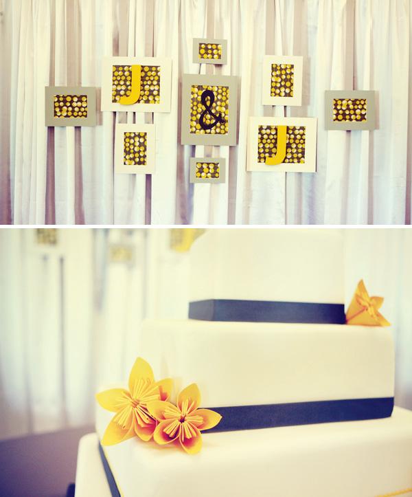 zheltyj-dekor-na-svadbe-3 Использование желтых декораций для придания официальному торжеству свежести и яркости