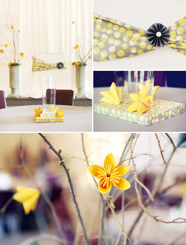 zheltyj-dekor-na-svadbe-5 Использование желтых декораций для придания официальному торжеству свежести и яркости