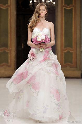 5745-svadebnie-platya-s-cvetochnym-printom Свадебные платья с цветочным принтом, очаровательный и модный тренд в свадебной моде