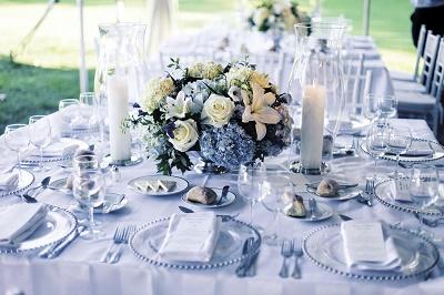 servirovka-stola-gortenziya-11 Идеи для свадеб со стилем, тематические свадьбы