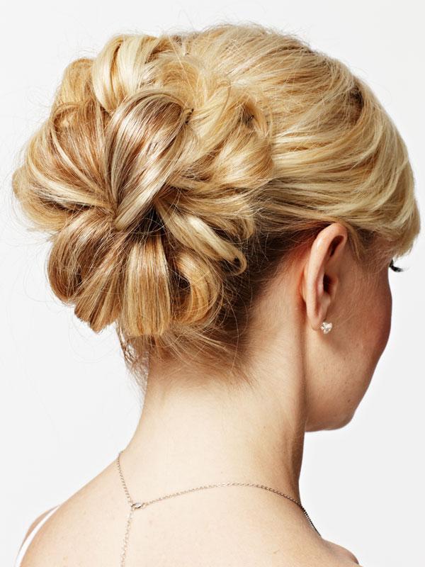 02 Завиток к завитку - свадебная прическа для длинных волос