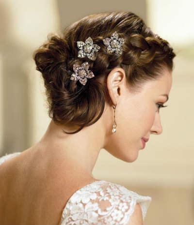 Завиток к завитку – свадебная прическа для длинных волос