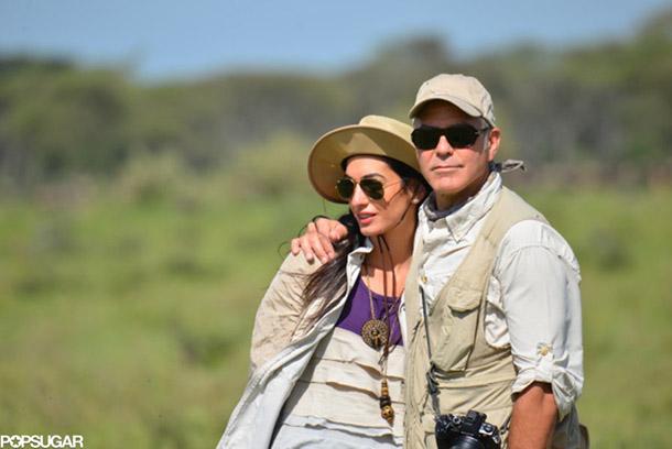 Джордж Клуни выбирает место для свадьбы