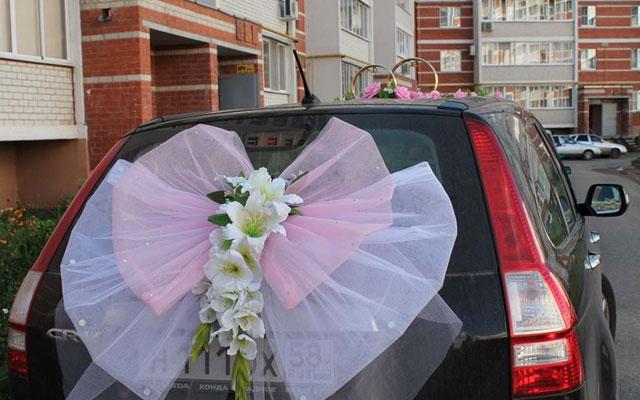 Как самим сделать ленты на свадебную машину своими руками