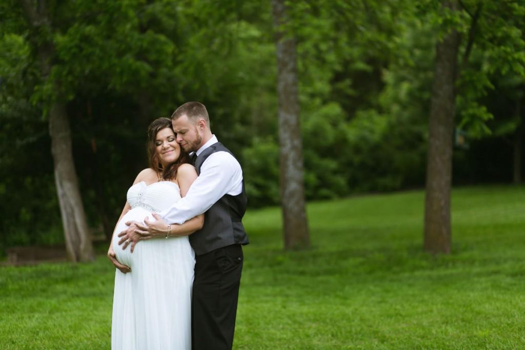 Невеста на свадьбе сказала что беременна 93