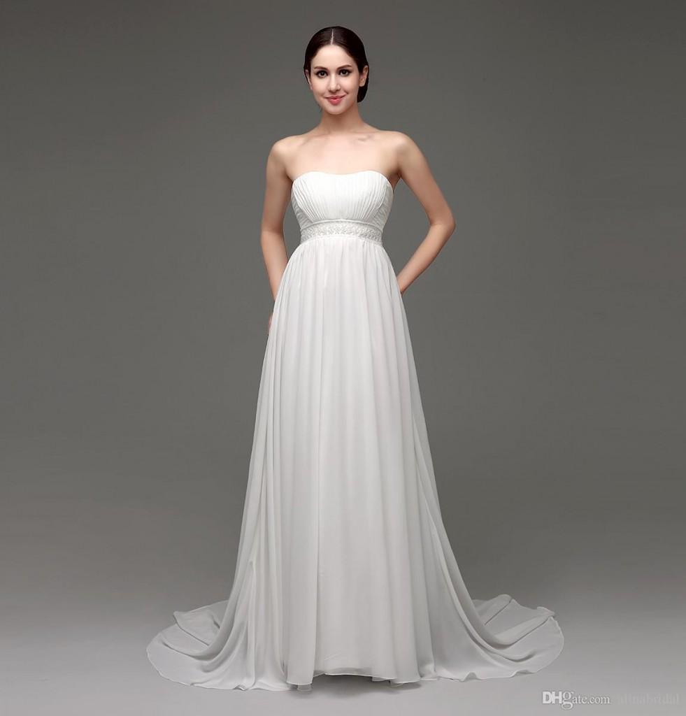 stoit-otdat-predpochtenie-prozrachnomu-shifonu-981x1024 Свадебная мода для беременной невесты: поговорим о платьях для беременных на свадьбу.