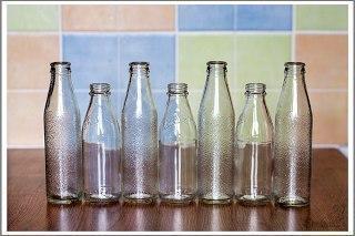 butylki Мастер- класс: радужные вазы для оформления