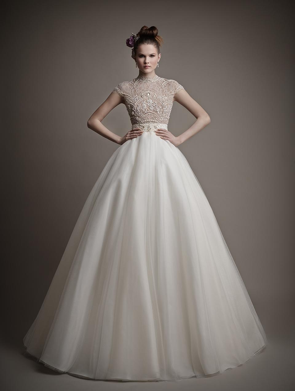 Коллекция свадебных платьев 2015 года от Ersa Atelier11