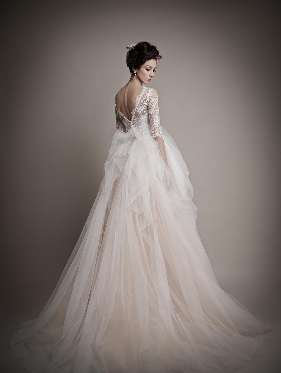 Коллекция свадебных платьев 2015 года от Ersa Atelier12-1