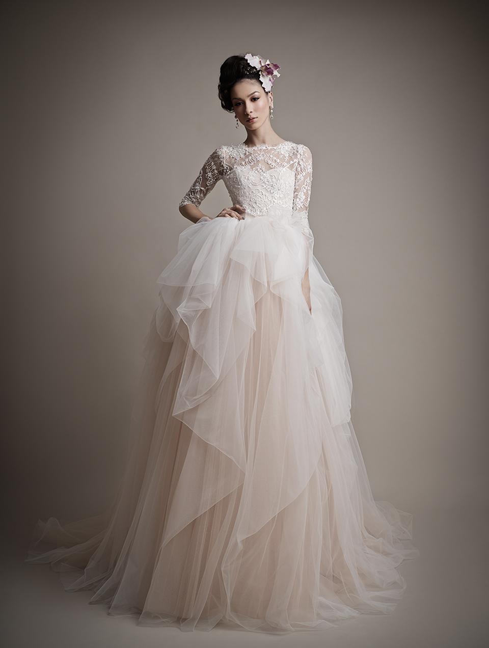 Коллекция свадебных платьев 2015 года от Ersa Atelier12