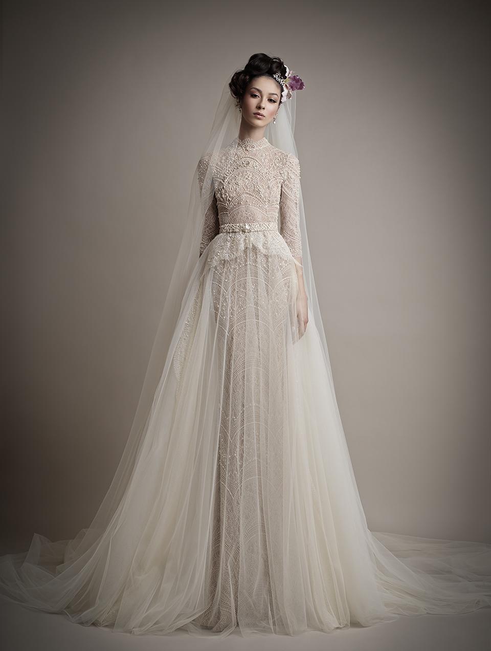 Коллекция свадебных платьев 2015 года от Ersa Atelier18