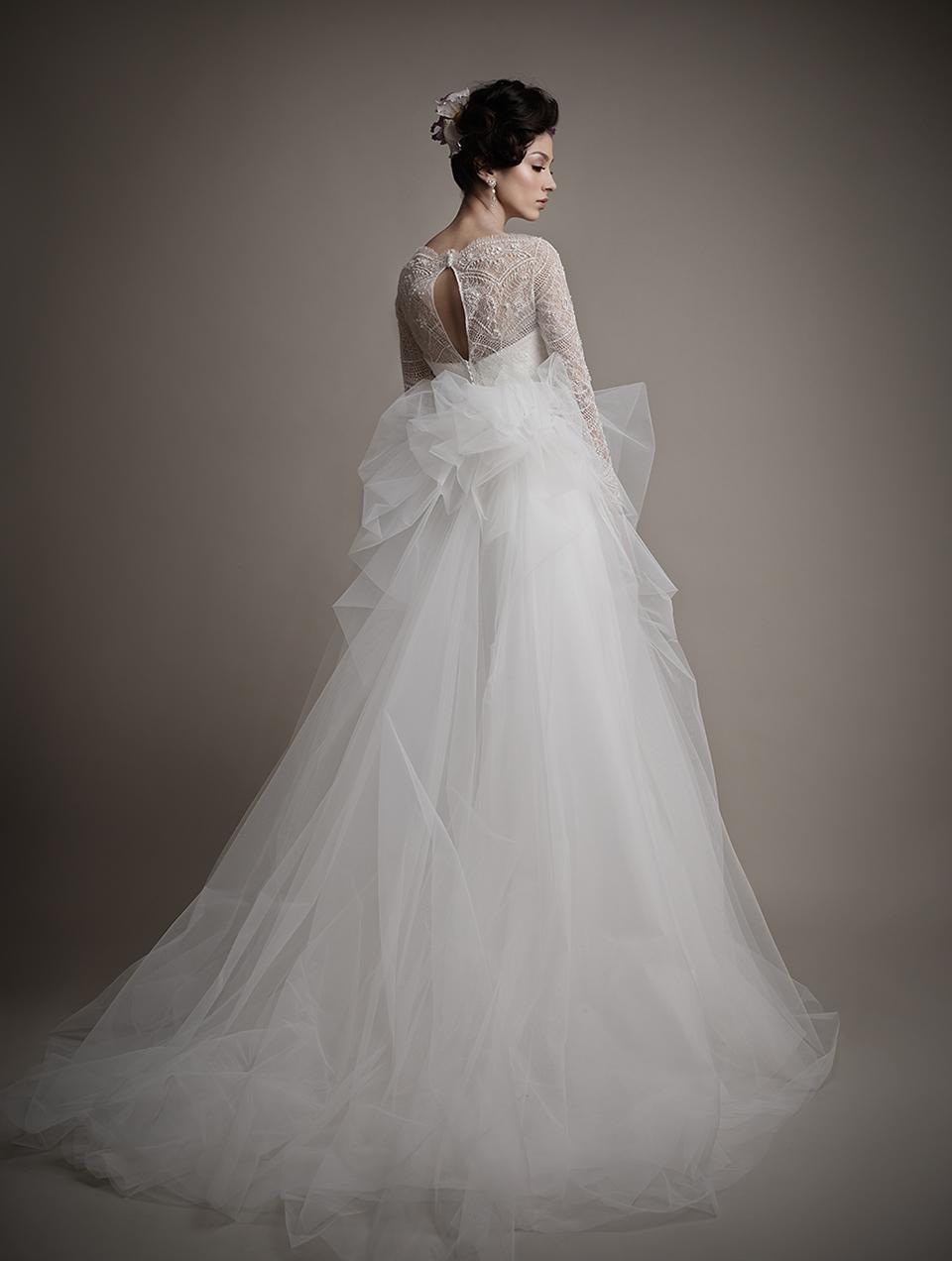 Коллекция свадебных платьев 2015 года от Ersa Atelier19-1