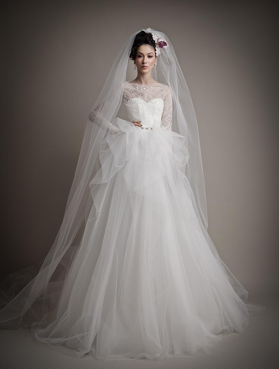 Коллекция свадебных платьев 2015 года от Ersa Atelier19