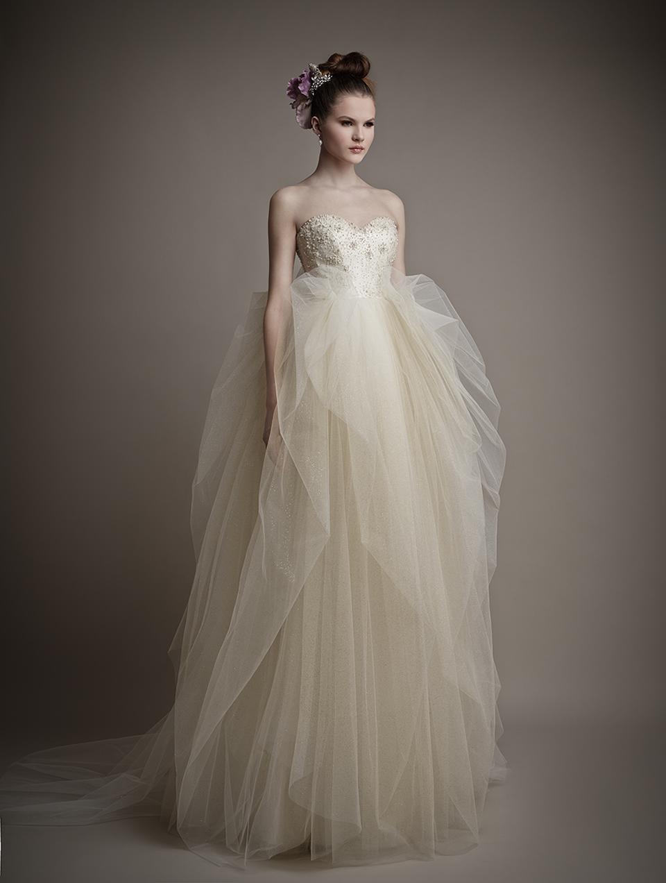 Коллекция свадебных платьев 2015 года от Ersa Atelier3